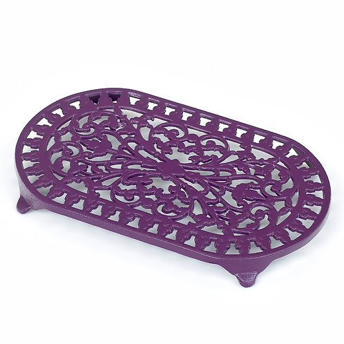 VCW315BY Oval Trivet Berry