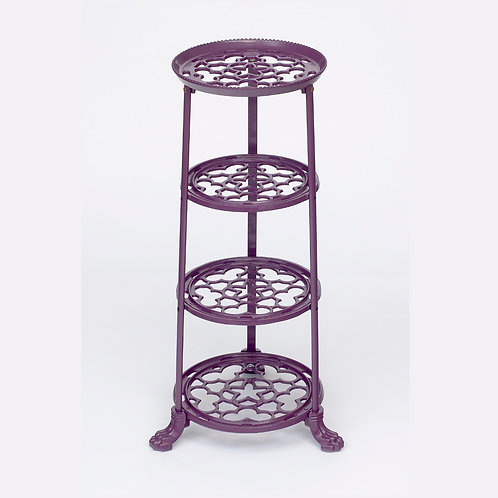 D1630BYF 4 Tier Pan Stand Berry