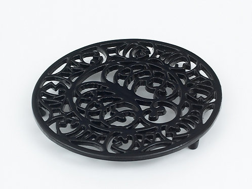 RW107 Octopus & Fish Trivet Black