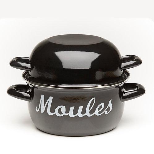 EN270BK Mussel Pot Black