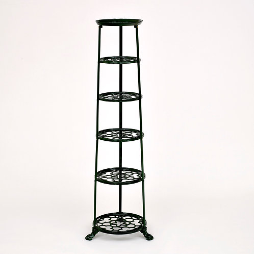 D1620GF 6 Tier Pan Stand Green