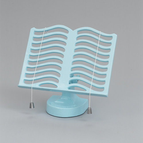 RW315PB Cook Book Stand Pale Blue