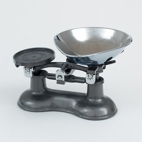 VCW220GRC Cast Iron Scales Graphite with Chromed Brass fittings