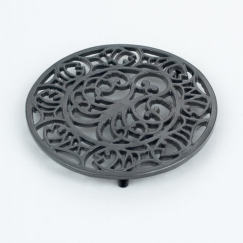 RW107GR Octopus & Fish Trivet Graphite