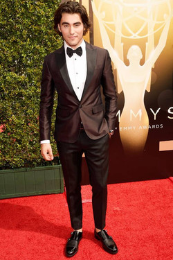 Blake-Michael-arrives-at-the-Creative-Arts-Emmy-Awards