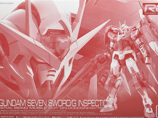 PBandai RG 1/144 Gundam Seven Sword/G Inspection colors re-issue