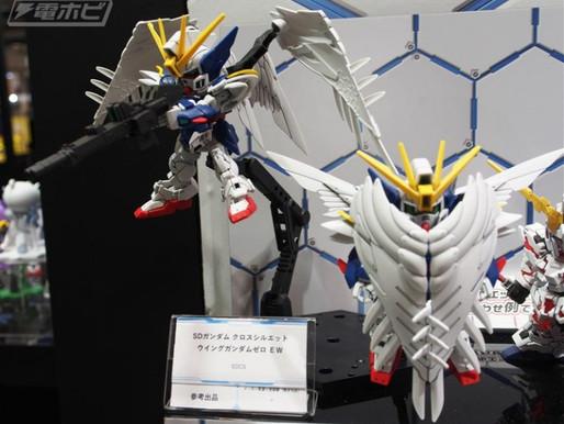 SDCS Wing Gundam Zero EW Revealed (Shizuoka Hobby Show)