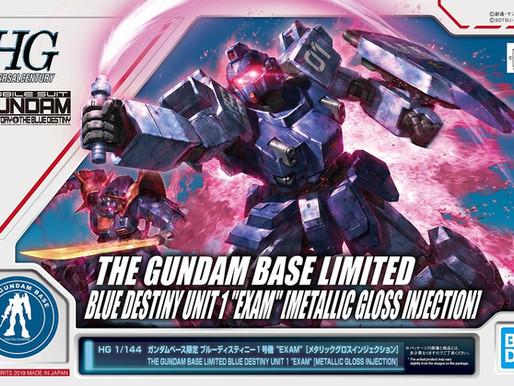 HGUC 1/144 Blue Destiny Unit 1 (EXAM) Metallic Gloss Injection Ver