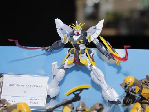 HGAC 1/144 Gundam Sandrock and Pbandai HGAC Maganac 36 set revealed (Shizuoka Hobby show)