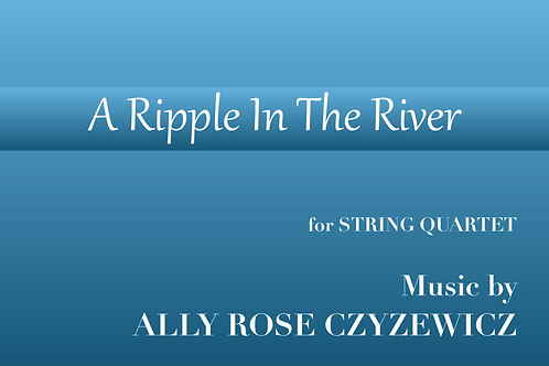 A Ripple In The River