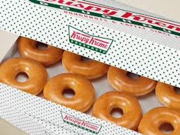 Krispy Kreme Fundraiser - Original Glazed Doughnuts Dozen