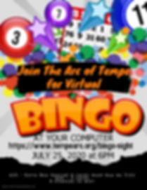 Bingo Flyer SAVE THE DATE - Made with Po