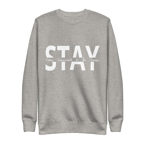Fleece Pullover - Stay Line