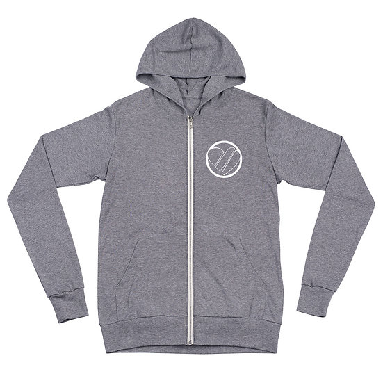 Lightweight Zip-Up Hoodie - Heart