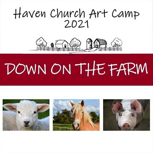 Art Camp 2021: Down on the Farm