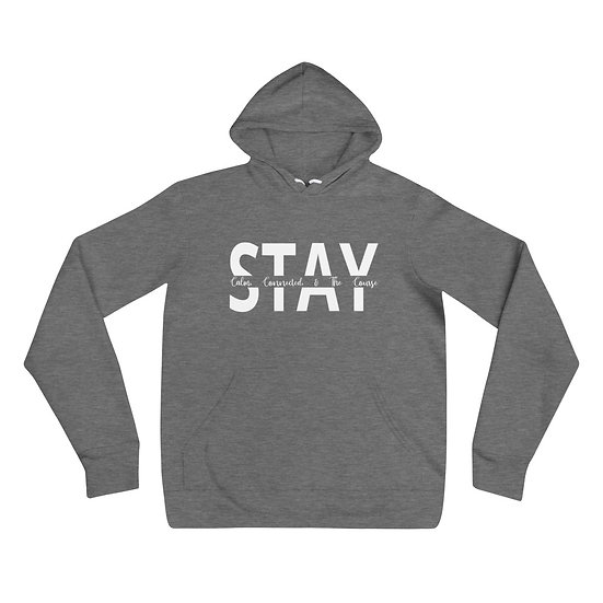 Pullover Hoodie - Stay Line