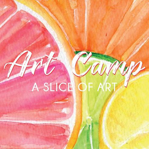 Art Camp - A Slice of ART!