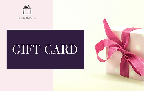 Scentrique Gift Card