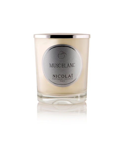 Musc Blanc Scented Candle