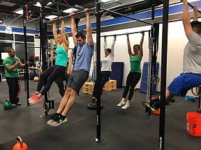 CrossFit, Exercising, Pull-Ups
