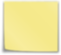 Office-Post-it-Reminder-Yellow-Note-Stic
