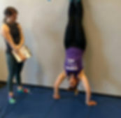 Hand-Stand, Personal Training, Gym, Exercise