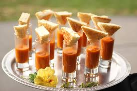 Tomato soup shooter