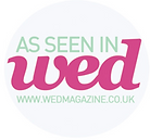 As seen in wed magazine