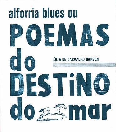 alforria blues ou Poemas do Destino do Mar