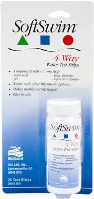 SoftSwim 4-Way Test Strips