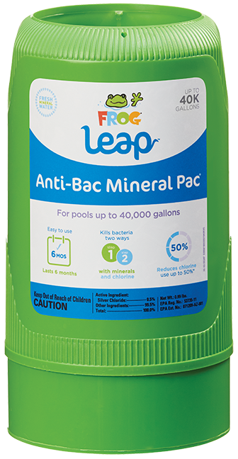 FROG Leap Anti-Bac Mineral Pac® 40K