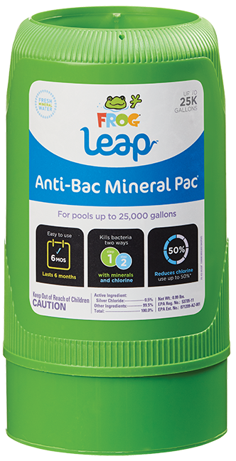 FROG Leap Anti-Bac Mineral Pac® 25K