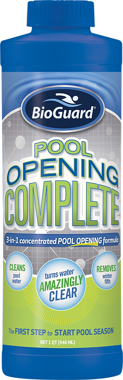 Pool Opening Complete®