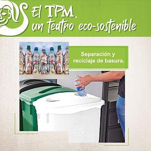 El TPM un teatro eco-sostenible y compro