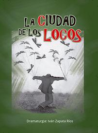 Caratula La ciudad de los locos - Octubr