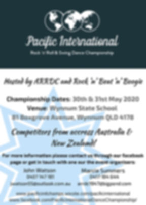 Information for the 2020 Championships.j