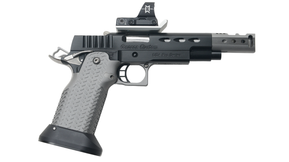 USA PRO SERIES - DLC Finish with Steel Grip