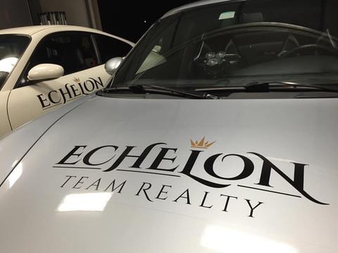 Echelon Team Realty Decals