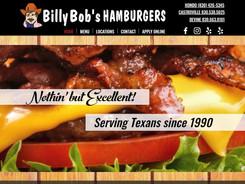 Billy Bob's Hamburgers Website