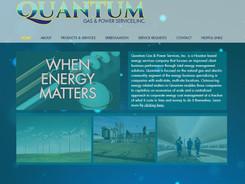Quantum Gas & Power Website