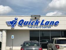 Quick Lane Channel Letters