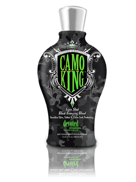 Camo King Tanning Lotion Devoted Creations