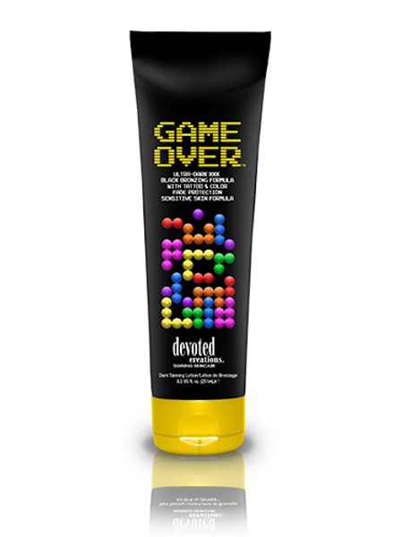 Game Over Tanning Lotion Devoted Creations