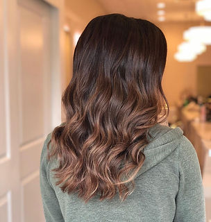 Brunette Beachy Waves Ocean NJ