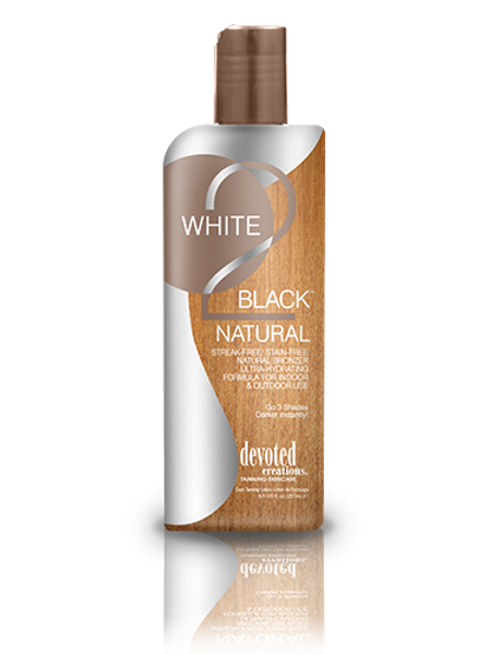 white 2 black natural tanning lotion devoted creations