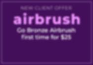 Airbrush Spray Tan Intro Offer Tiki Image
