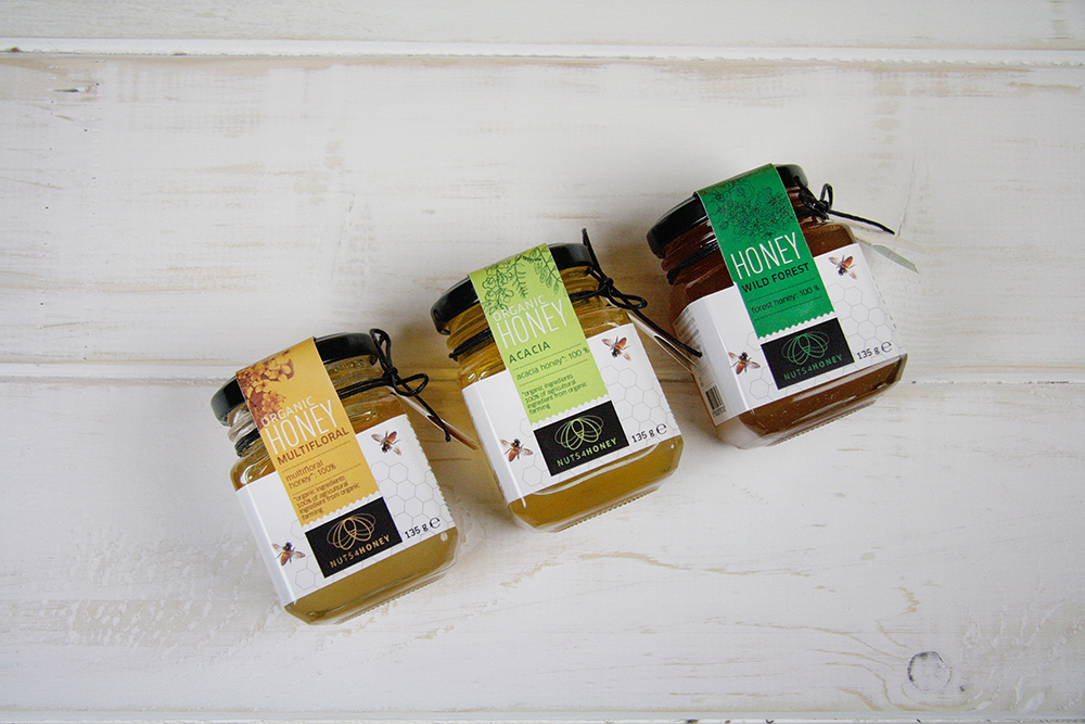 Nuts4Honey - pure raw natural honey