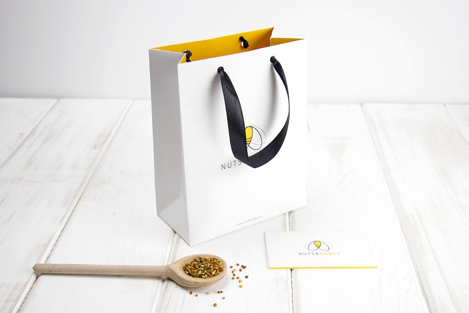 Nuts4honey - Organic honey-Gift Bag