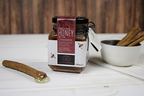 Raw Organic Honey with Organic Cinnamon