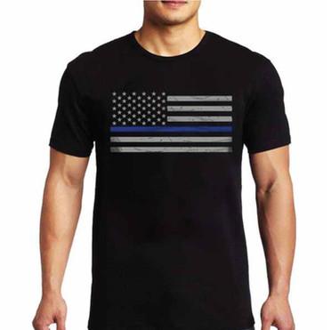 Thin Blue Line Short Sleeve Shirt